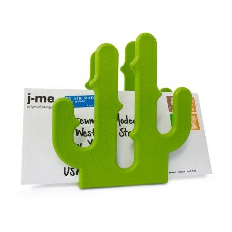 Everyone loves using plants and flowers to add life and color in their home. Cactus letter holder does just that whilst also keeping your letters and notes organised.