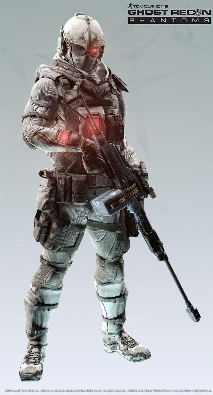 Ghost Recon Phantom/Assassin Creed Crosscover, Khan SevenFrames on ArtStation at http://www.artstation.com/artwork/ghost-recon-phantom-assassin-creed-crosscover