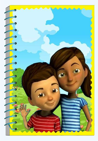 Caleb y Sofia Libreta para apuntes