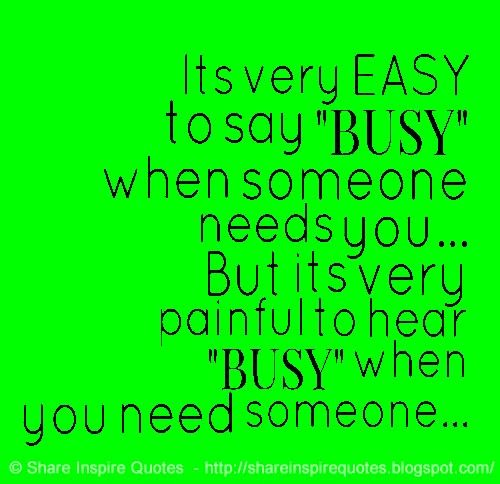 how to say i am busy politely