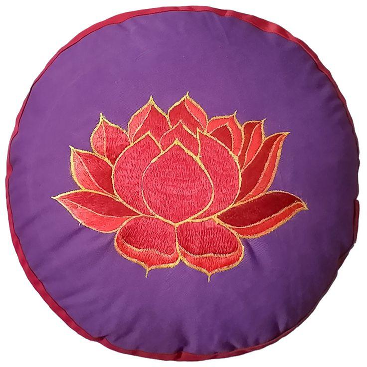 Yogakissen YogiStick® Lotus violett-red günstig kaufen