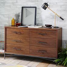 City Storage 3-Drawer Dresser - Walnut | west elm