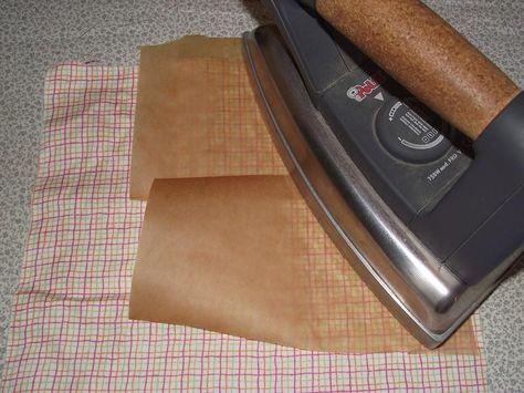 TUTORIAL: Endurecer una tela para manualidades.   Bricolaje