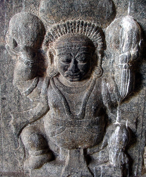 Talakad Vaideyswara Temple Carving. You can read more at: http://bit.ly/wHWzeq