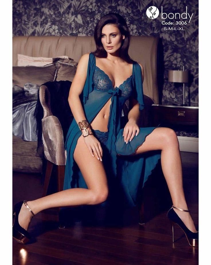 Bondy 3006 Şifon Gecelik | Mark-ha.com #gecelik #stylish #fashion #newseason #yenisezon #trend #moda #markhacom