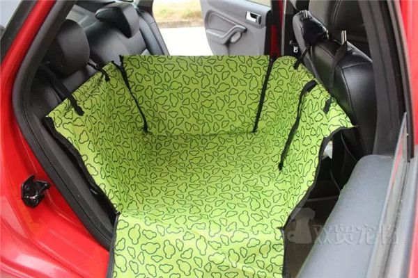 Hot Selling Universal Back Single-seated Dog Car Seat Cover Solid Blue Single Dog Car Seat Stain-resistant&Abrasion-resistant