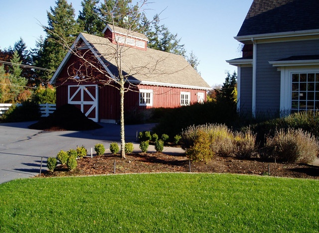 Rv Barn Traditional Garage And Shed Barn Pinterest
