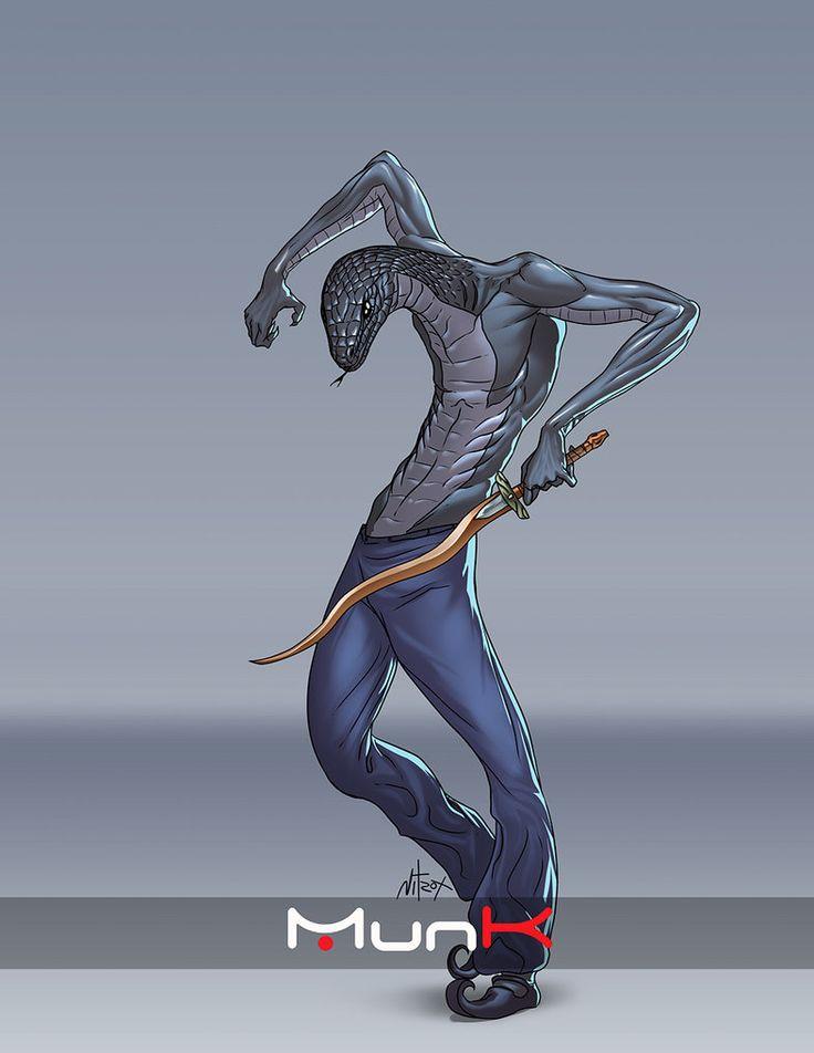 Serpiente Negra by Nitrox-Marquez
