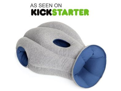 This is the perfect gift for students who have to pull frequent late-night study sessions! Just tuck your head and arms into the Ostrich Pillow for a quick, comfy catnap at your desk, at the library, or anywhere else!