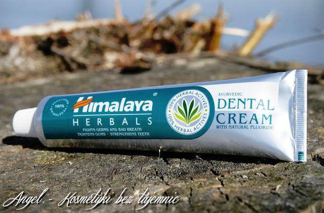 Kosmetyki Bez Tajemnic: Himalaya Herbals, pasta do zębów z naturalnym fluorem - zapewnia zdrowie - PSYCHICZNE