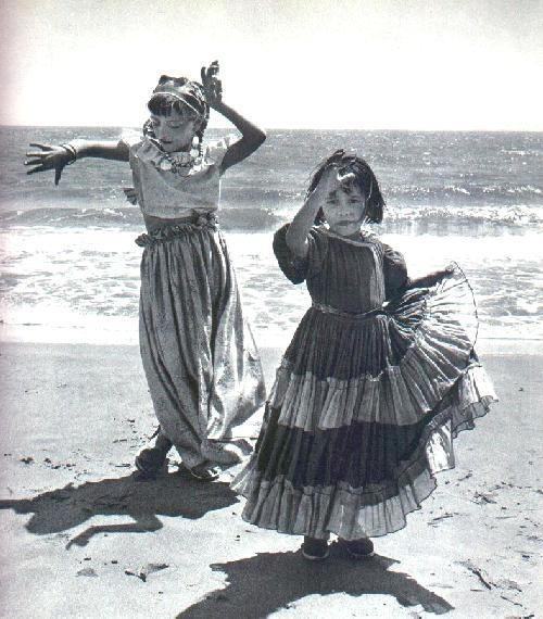 gypsy girls AKA sisters at the beach!