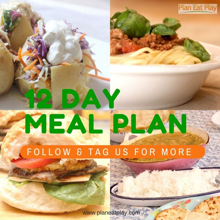 Free two week meal plan with recipes, shopping lists and templates to get you started. http://www.planeatplay.com/12-ways-wrap-year-day-1-meal-plan/