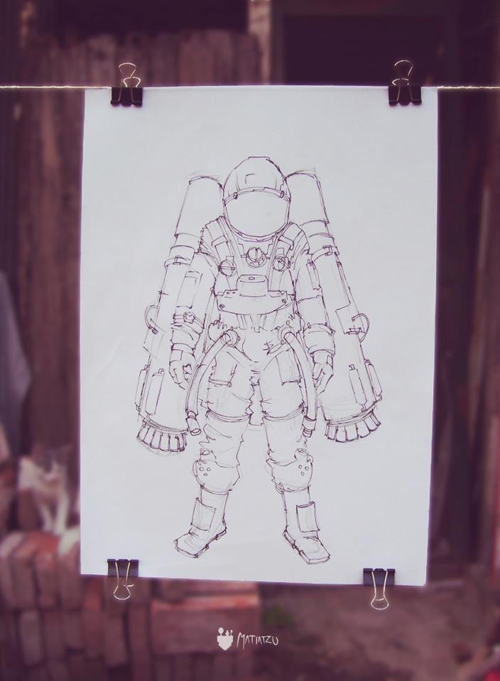 """"""" Stratos up! """" - Ilustración (en progreso)"""