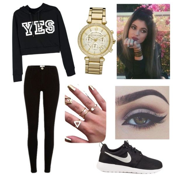 """""""Kylie Jenner Outfit Idea"""" created by Coco Groh on ♡Polyvore♡"""