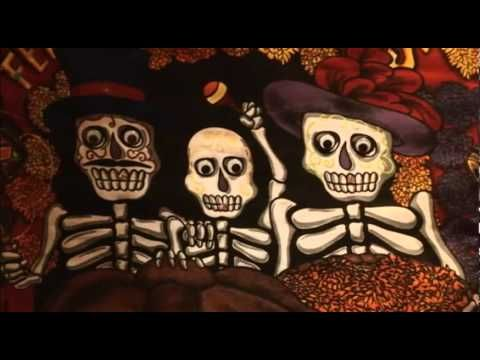 An EXCELLENT documentary about Día de los Muertos, but it's quite long to hold students' attention. Perhaps show clips? All in Spanish, so this would be best in upper levels (it could be used in low levels with a simple task, but I think the value of the video would be lost).
