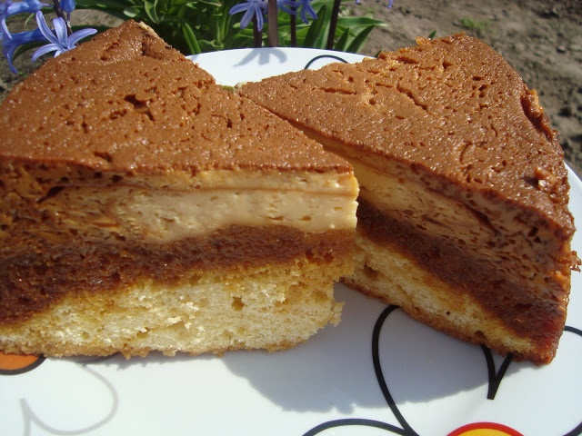 CAIETUL CU RETETE: Tort cu crema de zahar ars