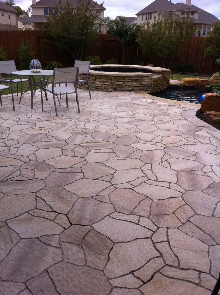 1000 images about pool decks on pinterest beautiful Flagstone pavers around pool