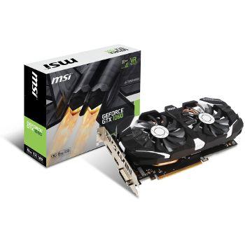 295,99 €  Carte graphique MSI GeForce GTX 1060 6GT OC V1 - 6 Go