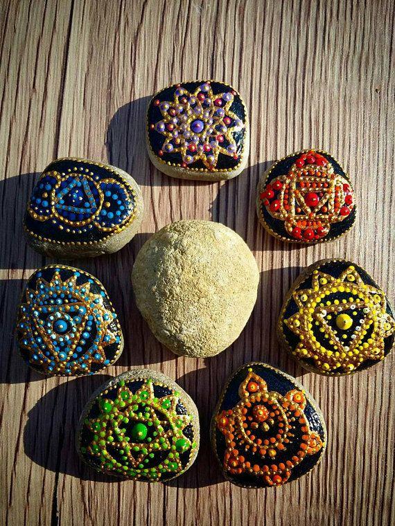 Hey, I found this really awesome Etsy listing at https://www.etsy.com/listing/510394954/chakra-stones-meditation-stones-mandala