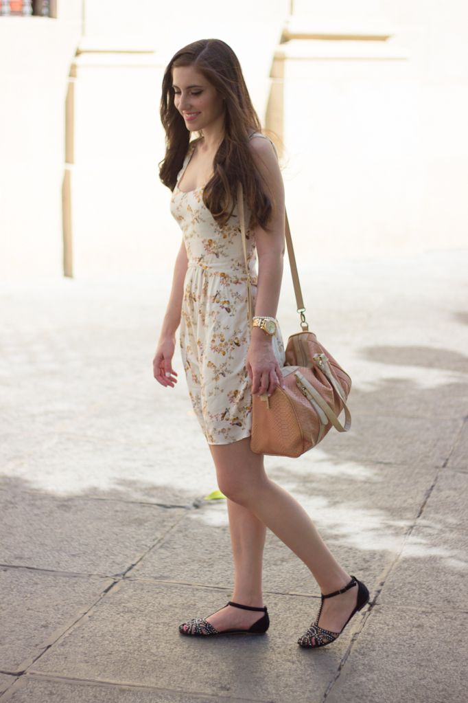 BIRDY DRESS 28-5-2014  Vestido/Dress – Bershka Cangrejeras/Shoes – Tino González Bolso/Bag – Primark