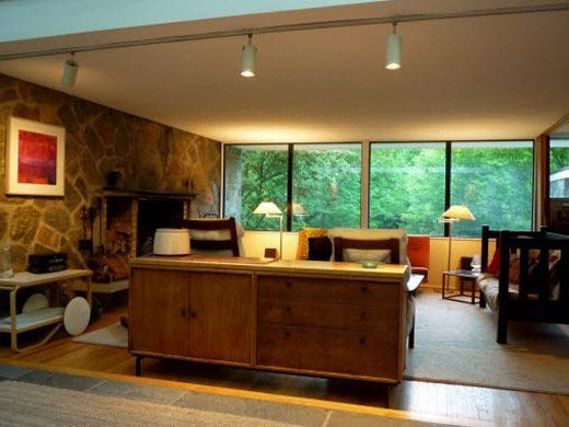 mid century modern design house - 50s Modern Home Design