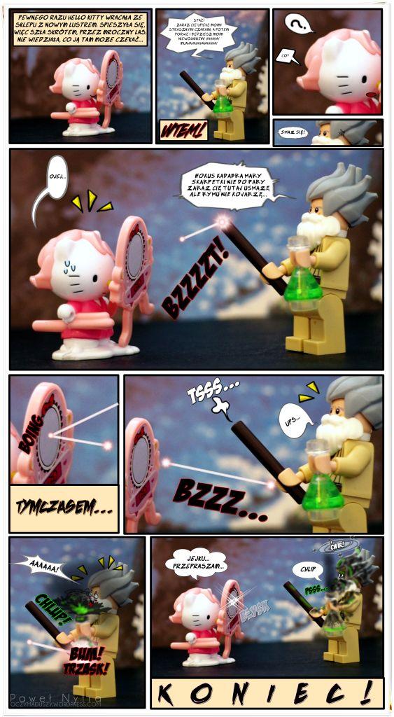 Komiks (Hello Kitty i LEGO)