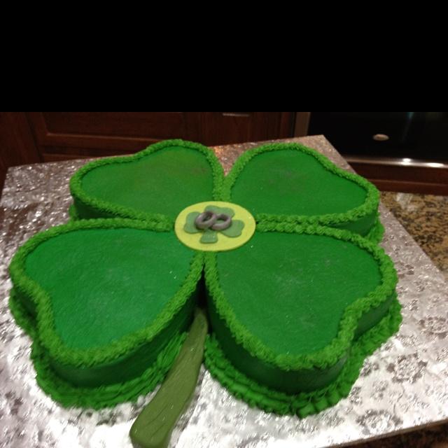 Shamrock Shaped Cake Pans