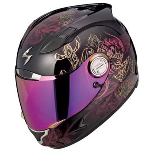 EXO-1100 Full Face Motorcycle Helmet; Preciosa (Pink) - ScorpionExo