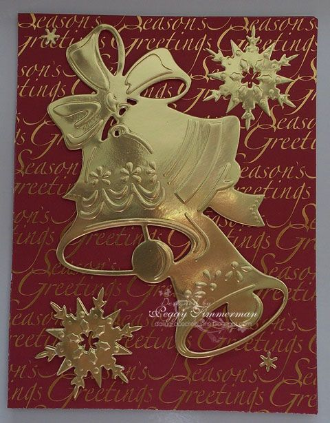 59 best anna 39 s christmas cards and embellishments images for Elegant homemade christmas cards