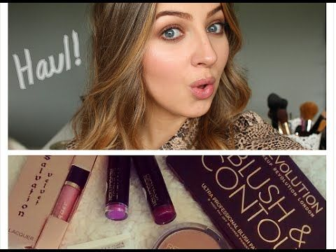 Makeup Revolution London Haul, Review & Swatches!