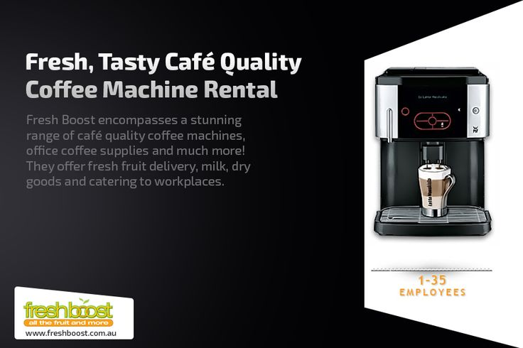 Fresh Boost encompasses a stunning range of café quality coffee machines, office coffee supplies and much more! They offer fresh fruit delivery, milk, dry goods and catering to workplaces.