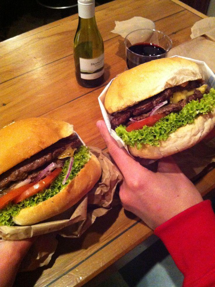 Must eat / Fergburger / Delicious / Food / Queenstown / Foodie / New Zealand