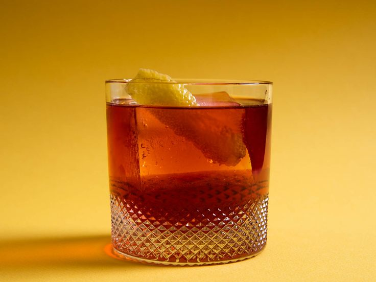 This apple brandy–based variation on the classic Negroni cocktail is spicy, rich, and bittersweet.