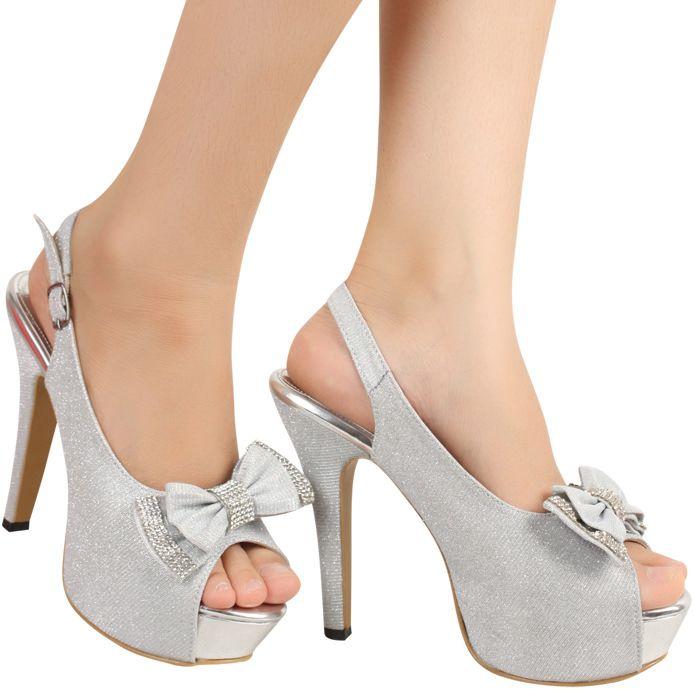 Toko Online Fashion Wanita - Jual Sepatu High Heels Bellina Silver http://www.slightshop.com/produk/sepatu-high-heels-bellina-silver/