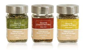 Gourmet Cheese Ball Mixes - $10 each - available in Italian Herb, Honey Garlic and Garlic Dill