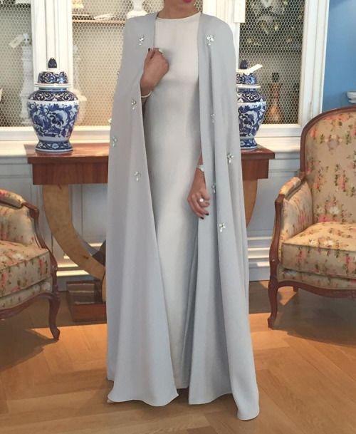 Fabuleux Les 25 meilleures idées de la catégorie Robes de mariage musulman  HY98