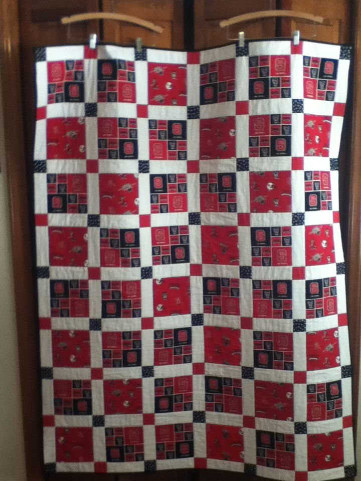 13 Best Images About Quilting Game Day On Pinterest