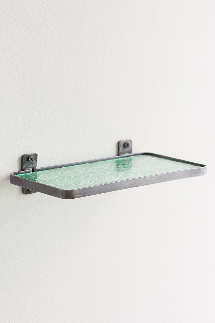 Slide View: 3: Pressed Glass Shelf