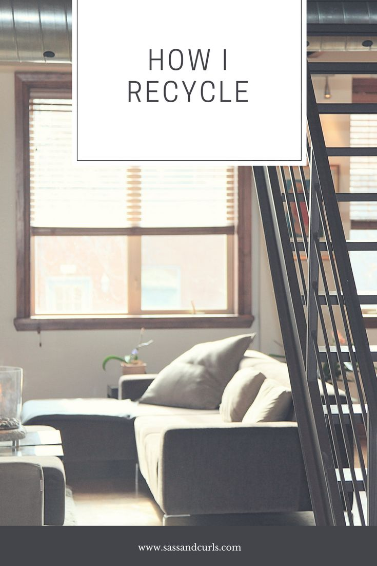 How I Recycle. Easy tips you can use in your daily life. #recycling #college #collegetips #sustainability #sustainableliving