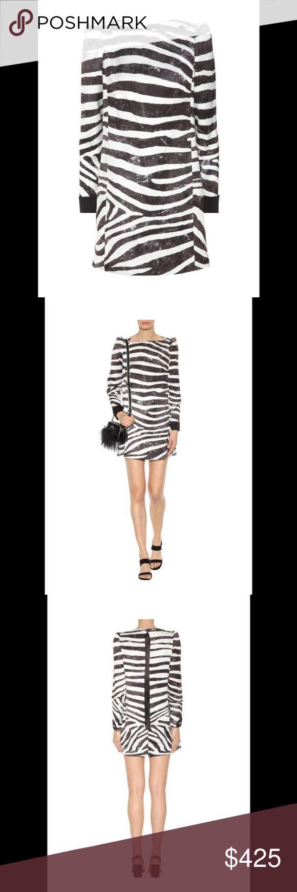 Marc Jacobs Zebra Print Dress  ❗️NTW❗️ Zebra printed mini dress. Marc Jacobs ❗️New with Tags❗️*fit is closer to Juniors size 11/12* offers welcome Marc Jacobs Dresses Mini