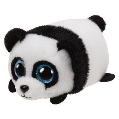 Ty Teeny knuffel Panda Puck - 10 cm