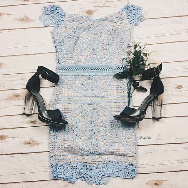 Baby Blue Dress  @shopdevi • shopdevi.com | link in bio to purchase! Like our Facebook page for discounts!