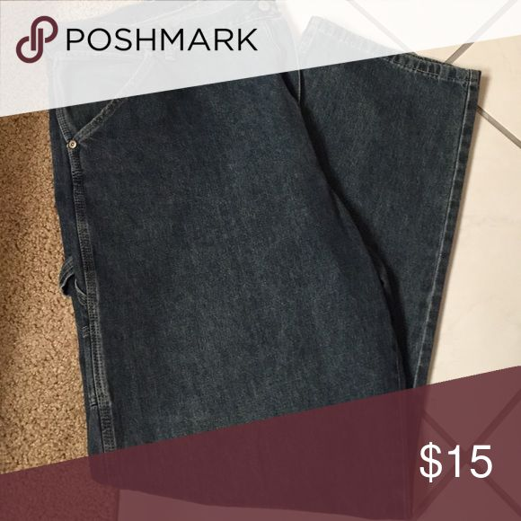 Wrangler carpenter dungarees jeans Wrangler Dungaree Carpenter jeans. Size: 38x34, good condition! Wrangler Jeans Straight