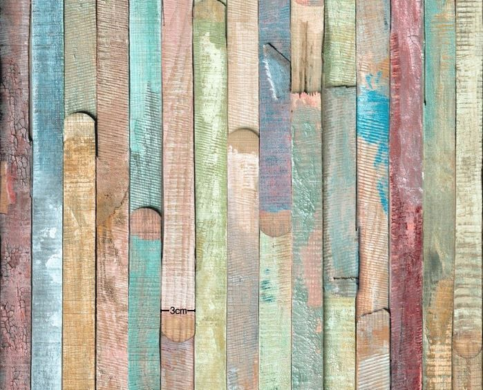 Distressed Wood Panel Home Deco Self Adhesive Peel-Stick Wallpaper - 11 Best Distressed Paneling Images On Pinterest