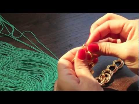 DIY: collar de flecos/ How to make a fringed necklace