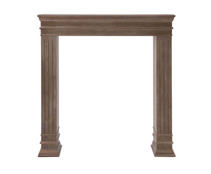 Marco embellecedor para chimeneas de madera de paulonia - Chimeneas de madera ...
