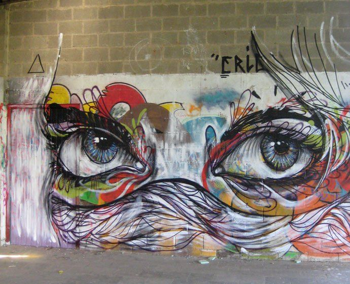 graffiti: Wall Art, Street Artists, Abstractart, Street Art Utopia, Abstract Art, Graffiti, Bright Colors, Eye, Streetart