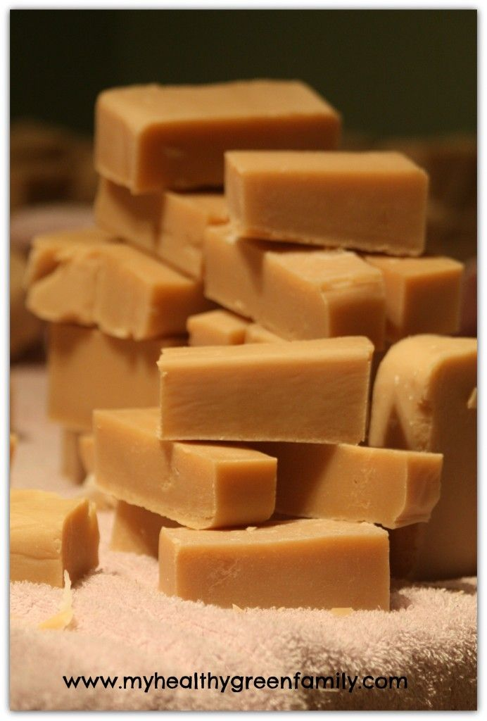 DIY Homemade Soap Recipe: The Modern Homesteader Bar with goat milk and tallow.
