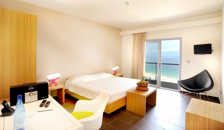 Deluxe Double Sea View Room @ Sikyon Coast Hotel & Resort!
