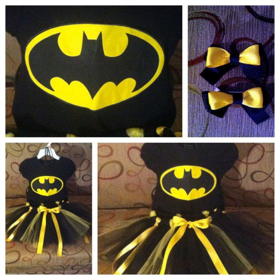 5 T Robin 12 month Batman Tutu Costumes by BeautifulThingsByLiz, $50.00